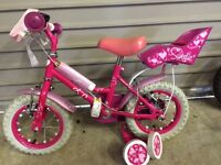 "12"" Sweetie girls bike. In excellent condition. Always stored indoors"