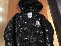 Boys Moncler Shiny Jacket Fits around 3-5 Years