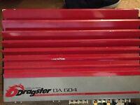 QUALITY DA604 DRASTER AMP CAR STEREO