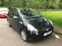 Honda Jazz 05 Black - MOT May 2019
