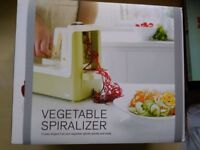 Lakeland Plastics new, unused, Vegetable spiralizer with three blades, easy to use
