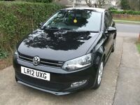 VW Polo Match 1.2 petrol with a full VW service history, and an MOT to 15 March 2018.