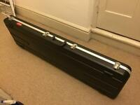 Hard case for bass guitar