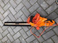 Worx electric hedge cutter with 51cm blade £25