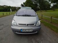 2003 (53) CITROEN XSARA PICASSO DESIRE 1.6 PETROL MOT EXPIRES 8TH JULY 2017 ( NO ADVISERIES )