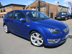 A RARE Ford Focus 2.5 SIV ST-3 3dr WITH ONLY 1 OWNER FINANCE AVAILABLE FULL SERVICE HISTORY LONG MOT