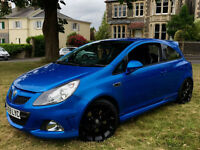 2009 59 Plate Vauxhall Corsa VXR 1.6 Turbo 70,000 Miles FSH Immaculate Condition HPI Clear Blue