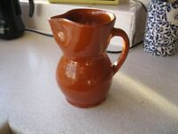 Spanish Terracotta Wine / Sangria / Punch / Cocktail Jug - 0.75 Litre Capacity