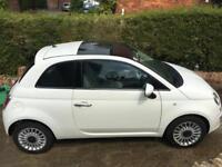 Fiat 500 in white - Low mileage!