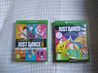 Xbox one just dance games, both in excellent condition.