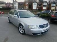 2004 AUDI A6 AVANT 1.9 TDI SE AUTO ESTATE SILVER LOW MILEAGE F.S.H FULL LEATHERS ALLOYS 1 OWNER
