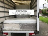 New. Small Double 3/4 Divan Bed with Mattress. £65.00. Slightly wider than a 3ft Single Bed. Can Del