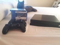 Playstation 4 with bundle of games