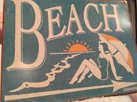 Beach Sign for Sale