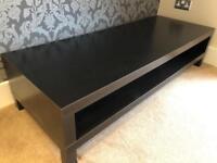 Ikea dark brown ash effect shelf