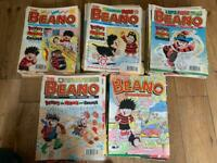 Collection of Beano and Dandy comics