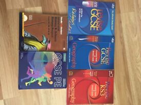 A selection of 5 Revision books