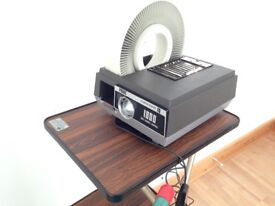 35mm Slide Projector/Slide Magazines/Projector Stand/Screen