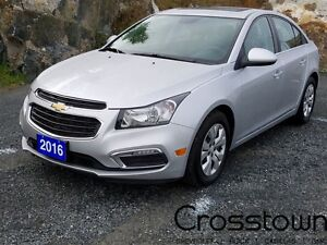 2016 Chevrolet Cruze TURBO/SUNROOF/BACKUP CAM/BLUETOOTH