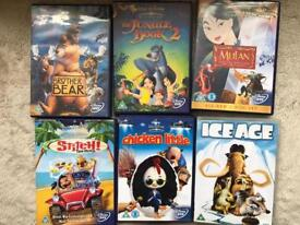 Childrens DVD selection