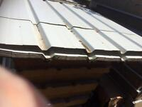 0.5 white roof sheets