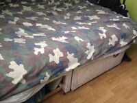 *Free*Double Bed & ortho Matress