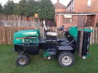 ransomes 2130 highway 4wd / lawnmower grass cutter commercial ride on