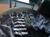 5 boys romper suits