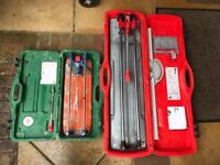 Rubi TR 700 and Rubi TS 30 tile cutter