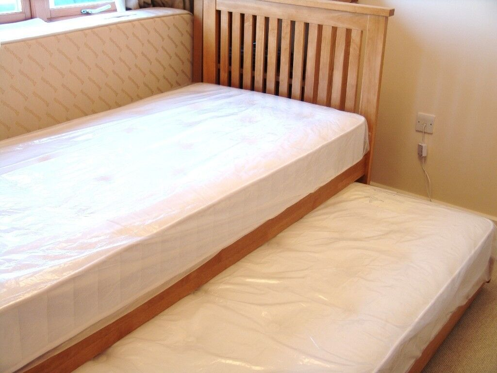 Two Single Beds Can Be Made Up As A Double Bed Or Guest
