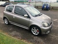 Toyota Yaris TS. New MOT and fully serviced. Immaculate car.