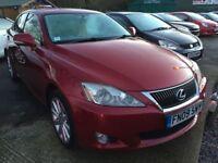 Lexus IS 2.2 TD SE-I 4dr (red) 2009