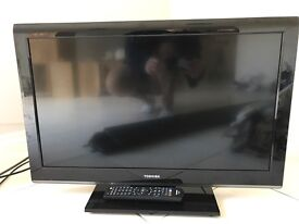 Toshiba 26inch Television with built in DVD player