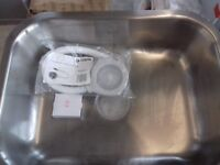 CAPLE STAINLESS UNDERMOUNTED SINK BRAND NEW WITH FITTINGS