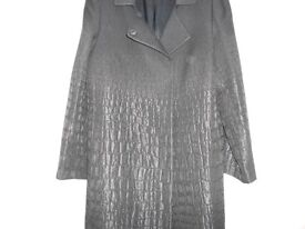 Black Ladies Coat By Georges Rech (Synonyme) Size 16