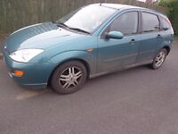 51 reg ford focus 1.8 tdi diesel 5 door moted and taxed with towbar and DELIVERY
