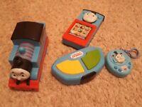 Thomas Tank engine toys - Remote control Thomas, Thomas Smart phone and Thomas musical keyring