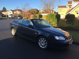 2006/56 SAAB 9-3 LINEAR CONVERTIBLE 2.0T AUTO FULL SERVICE HISTORY PX