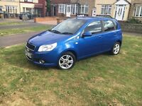 Chevrolet Aveo low millig 59 plate hpi clear