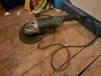 Titan 230 v 9 inch angle grinder