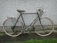 Falcon Westminster vintage racer road bike 700 wheels, 23 inch Reynolds 531 frame 10 gears new tyres