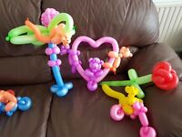 Close up Magic and Balloon modelling