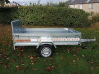 New Trailer 8.7 x 4.2 single axle with ramp £950 INC VAT