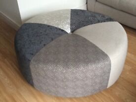 DFS like new Round Footstool. Stylish Design. Virtually brand new. RRP £799. Selling dirt cheap.
