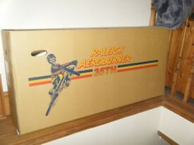 1 brand new in box 35th anniversary raleigh burner tap number 12 of 350 + stickers bmx bicycle