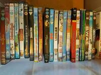 a few dvd's. some old classics ..