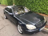 2000 (X) Mercedes S500 AMG / Black / Xenon / Sunroof / Fully Loaded / 10 Months MOT