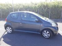 2006(06)TOYOTA AYGO+ 1.0 VVTi MET GREY,VERY LOW MILES,£20 TAX,CLEAN CAR,GREAT VALUE