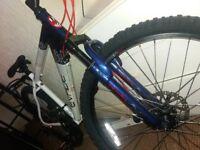 Nearly new apollo evade mountain bike