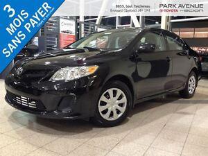 2013 Toyota Corolla 73$/SEMAINE * 3 ANS 60 000 KILOMÈTRES GARANT
